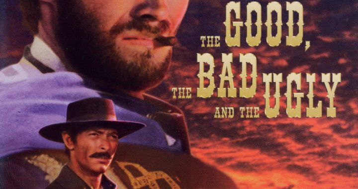 """Poster for the movie """"The Good The Bad and The Ugly"""""""